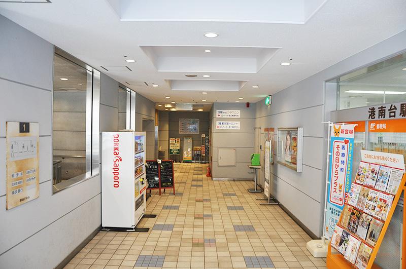 もり小児科へのアクセス エレベーター